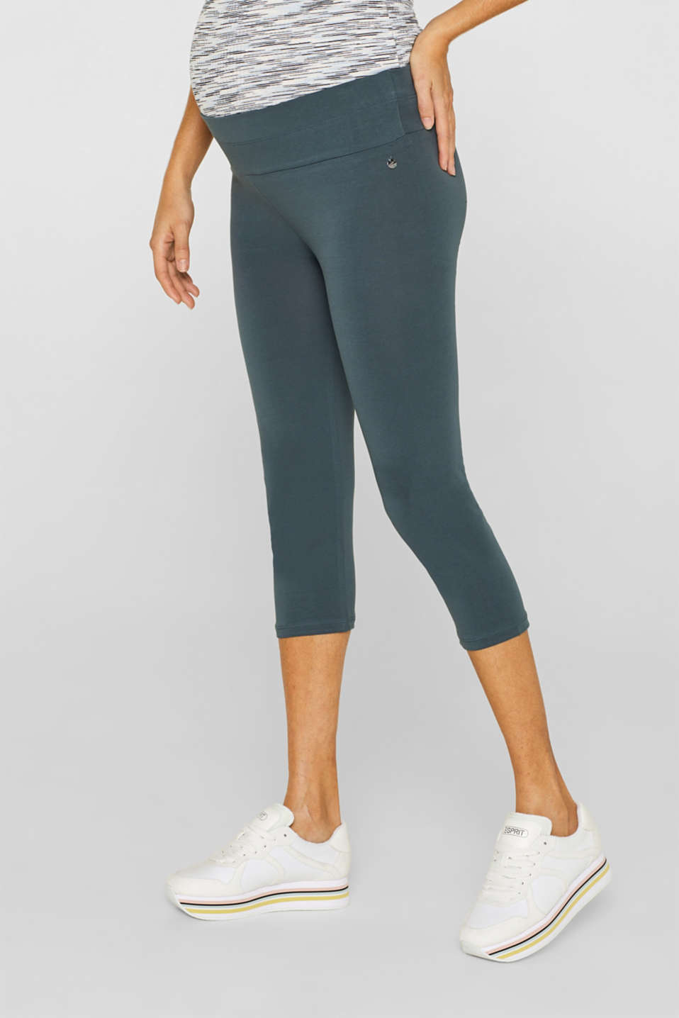 Esprit - Capri leggings + under-bump waistband
