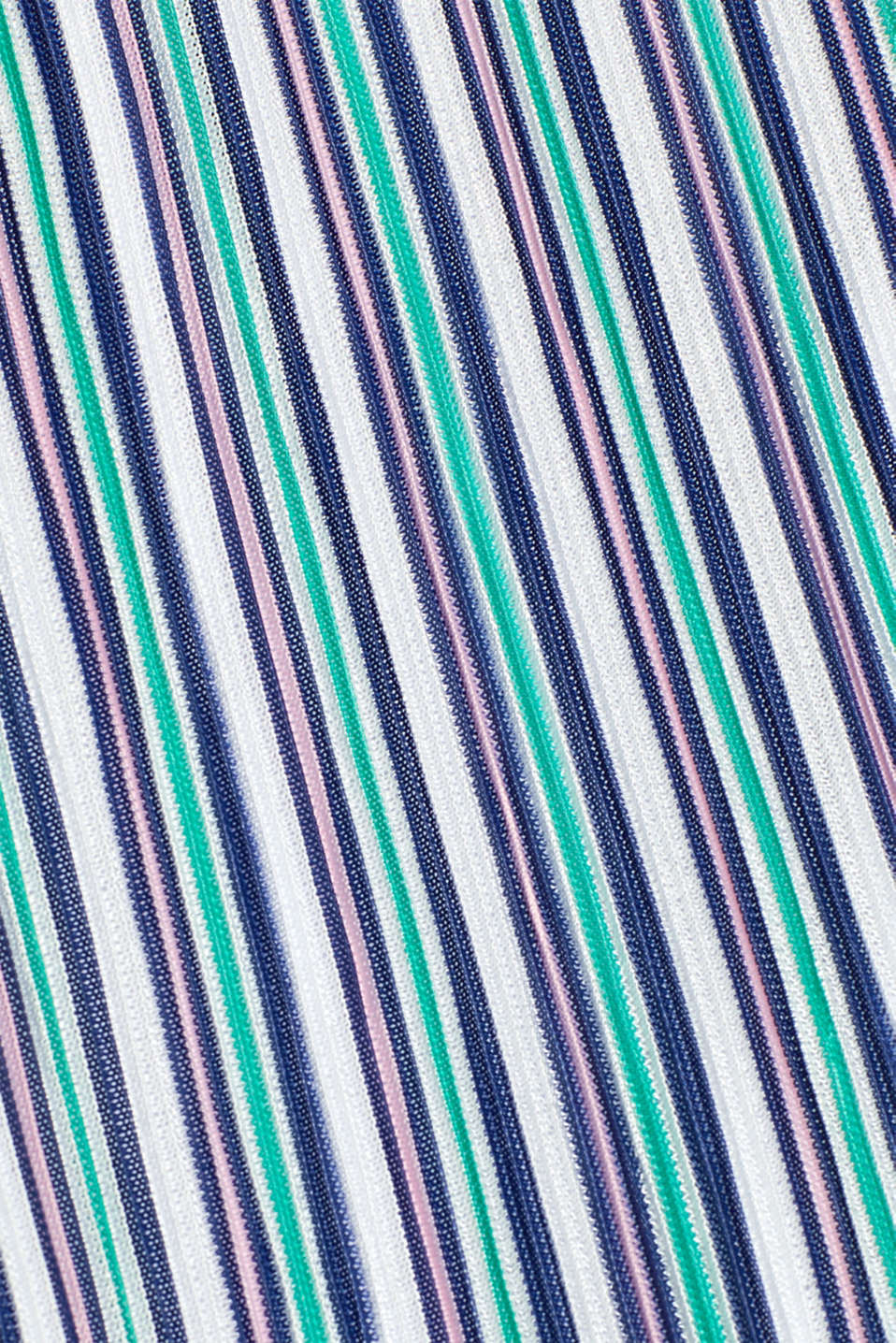 Pleated jersey maxi dress with stripes, LCEMERALD GREEN, detail image number 4