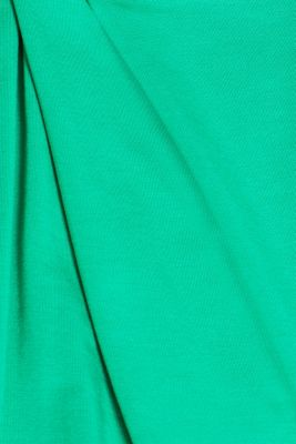 Stretch nursing top with knot detail, LCEMERALD GREEN, detail