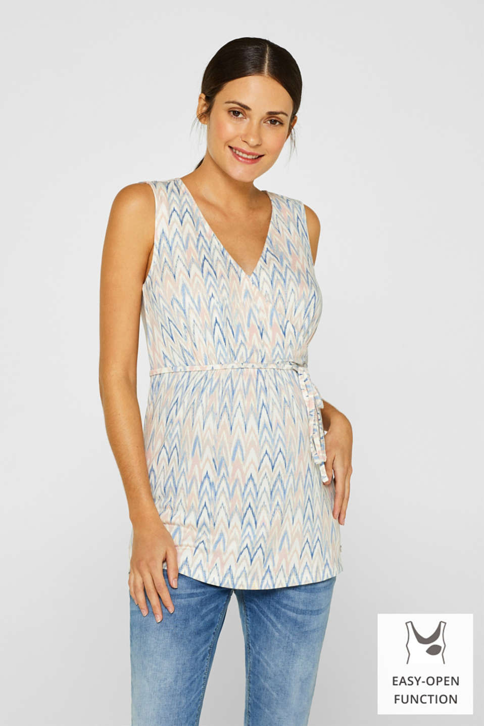 Esprit - Stretch jersey nursing top