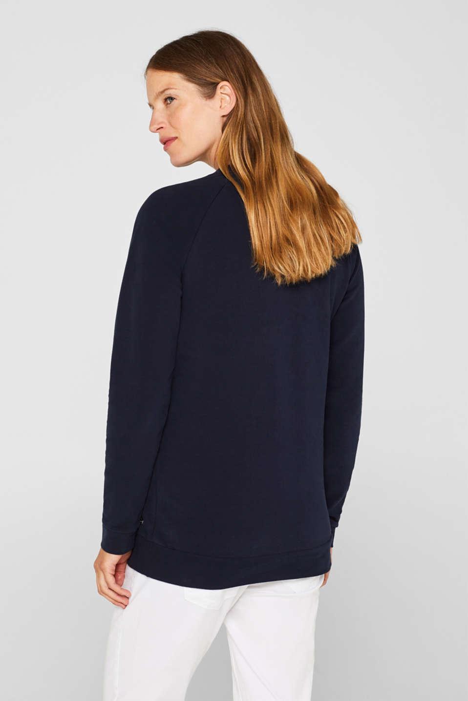 Sweatshirts, LCNIGHT BLUE, detail image number 3