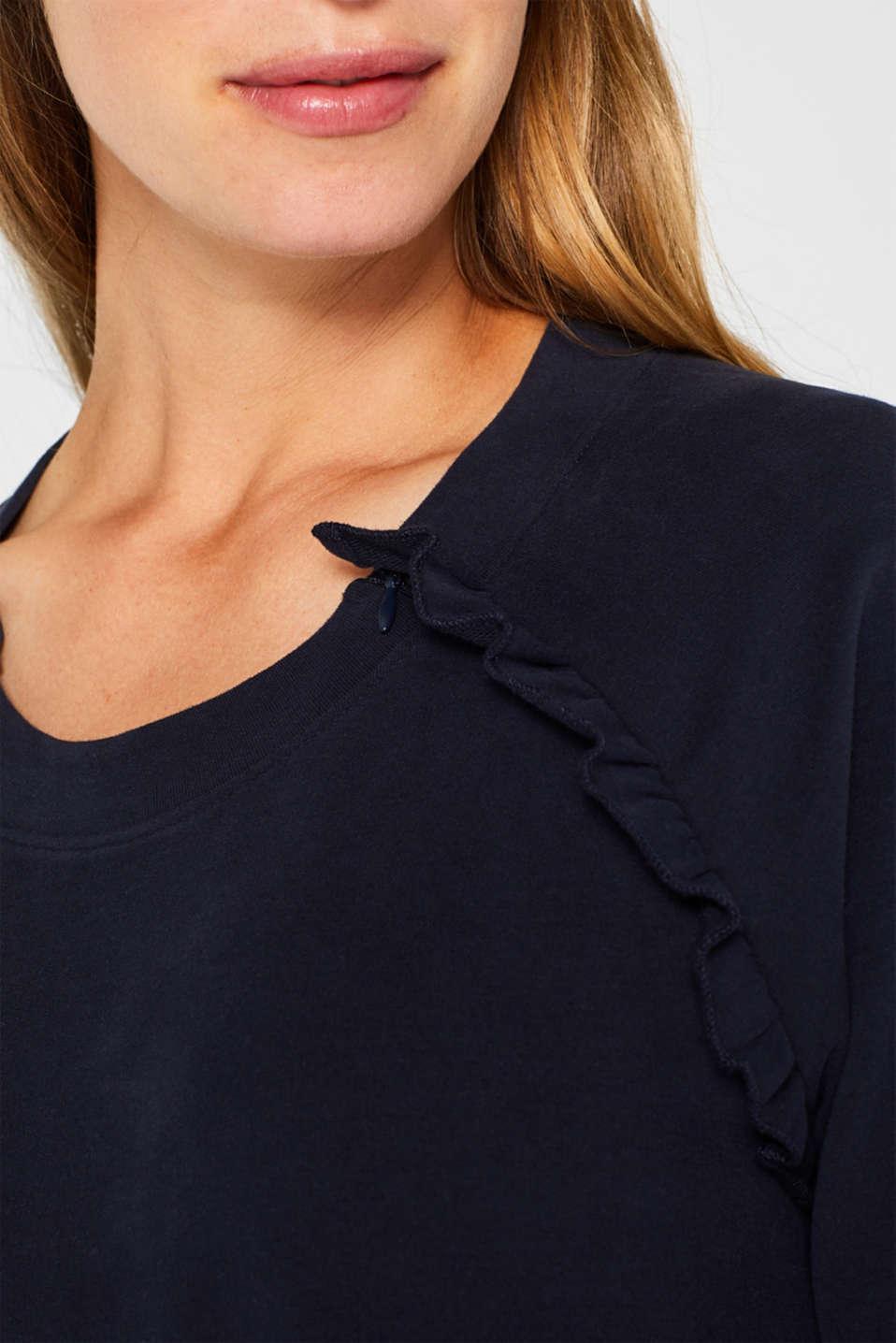 Sweatshirts, LCNIGHT BLUE, detail image number 2