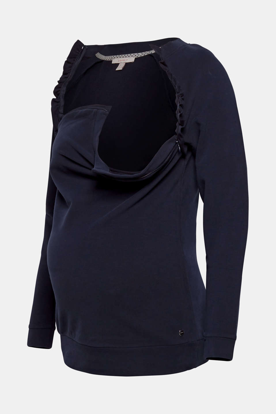 Sweatshirts, LCNIGHT BLUE, detail image number 4