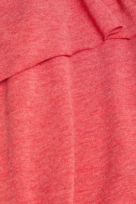 Layered nursing top, LCRED, detail