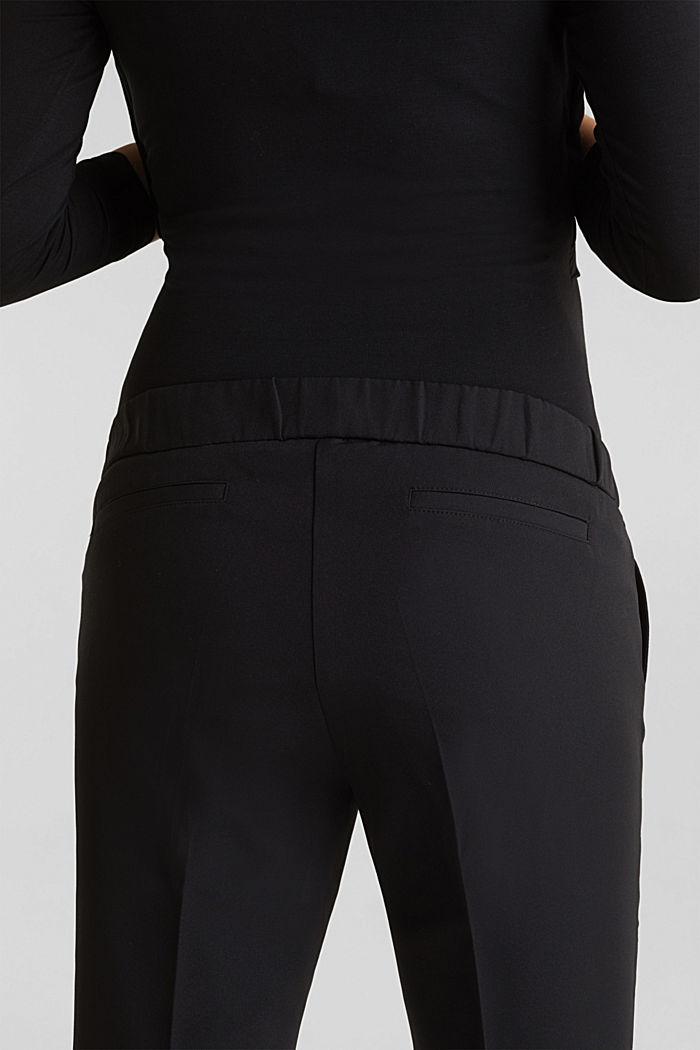 Stretch-Pants mit Überbauchbund