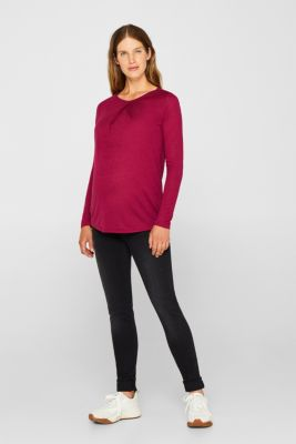 Jeggings with under-bump waistband, LCBLACK DARK WAS, detail
