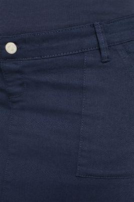 Stretch denim skirt with an over-bump waistband, LCNIGHT BLUE, detail