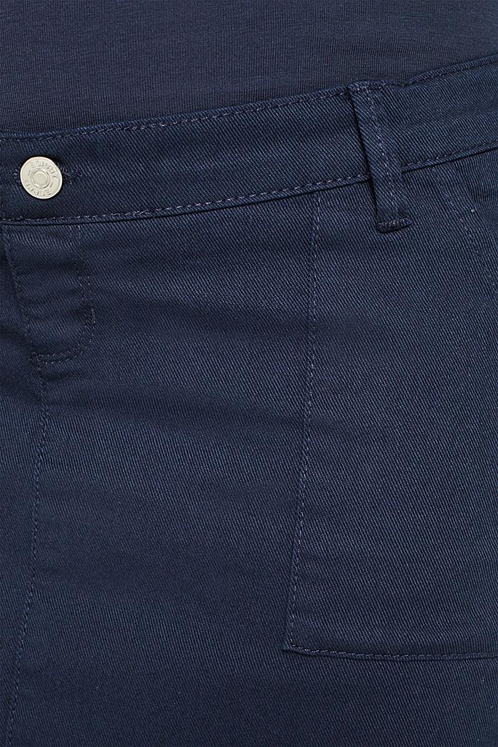 Stretch-Jeansrock mit Überbauchbund, NIGHT BLUE, detail image number 4