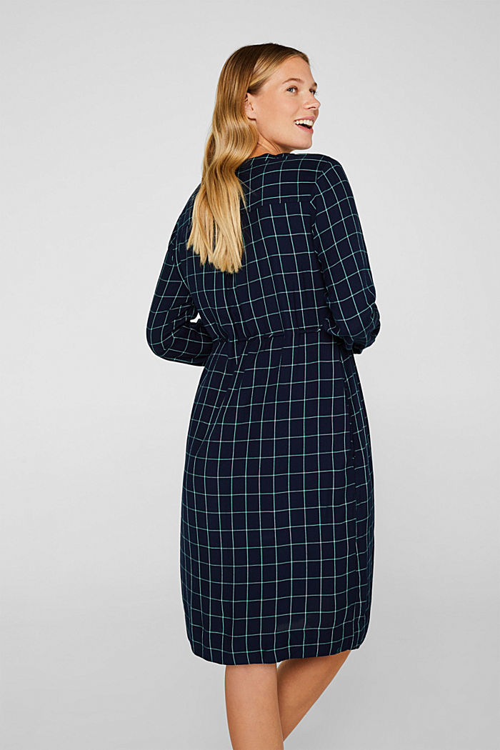 Button-through midi dress, NIGHT BLUE, detail image number 3