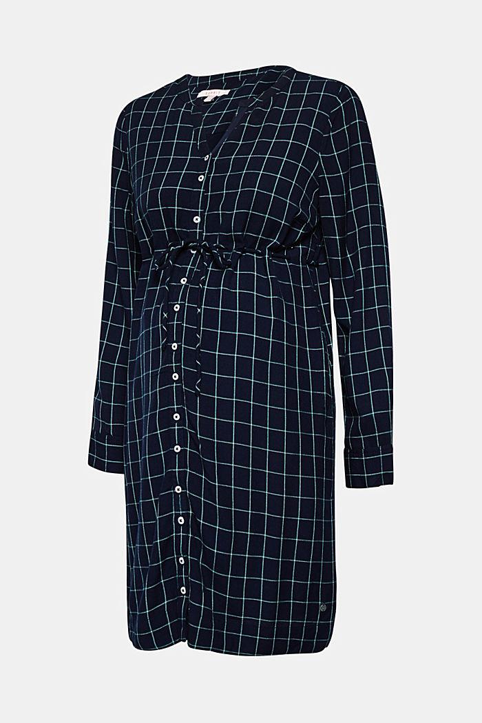 Button-through midi dress, NIGHT BLUE, detail image number 5