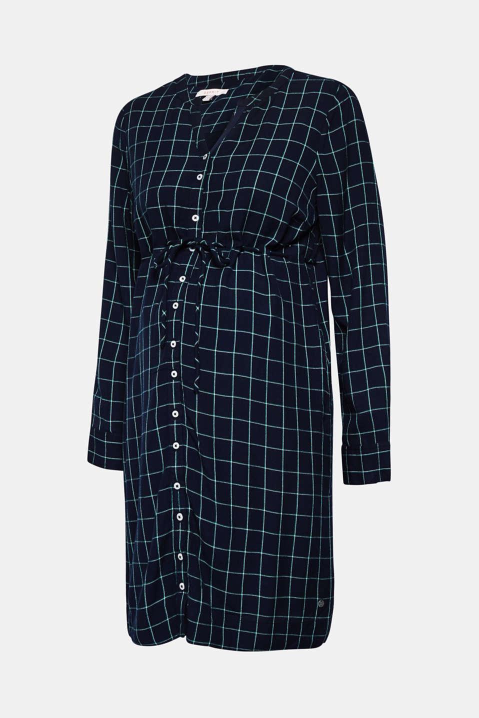 Button-through midi dress, LCNIGHT BLUE, detail image number 5