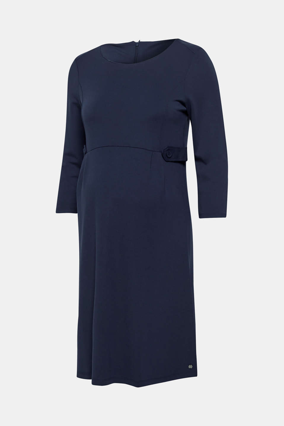 Stretch jersey dress with elasticated waist straps, LCNIGHT BLUE, detail image number 5