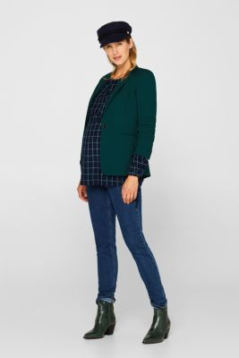 Long, layered blouse with a nursing function, LCNIGHT BLUE, detail