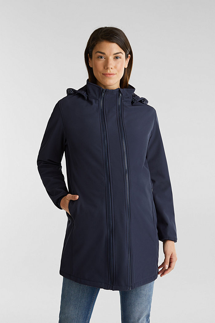 Variable 3-in-1-Softshell-Jacke, NIGHT BLUE, detail image number 0