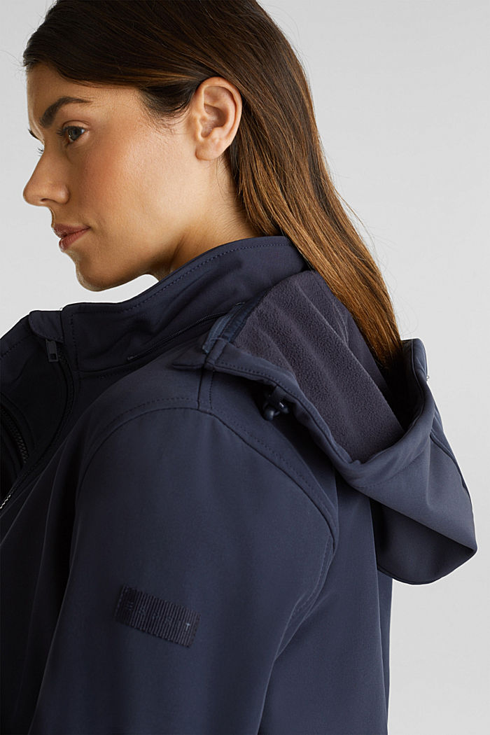Variable 3-in-1-Softshell-Jacke, NIGHT BLUE, detail image number 2