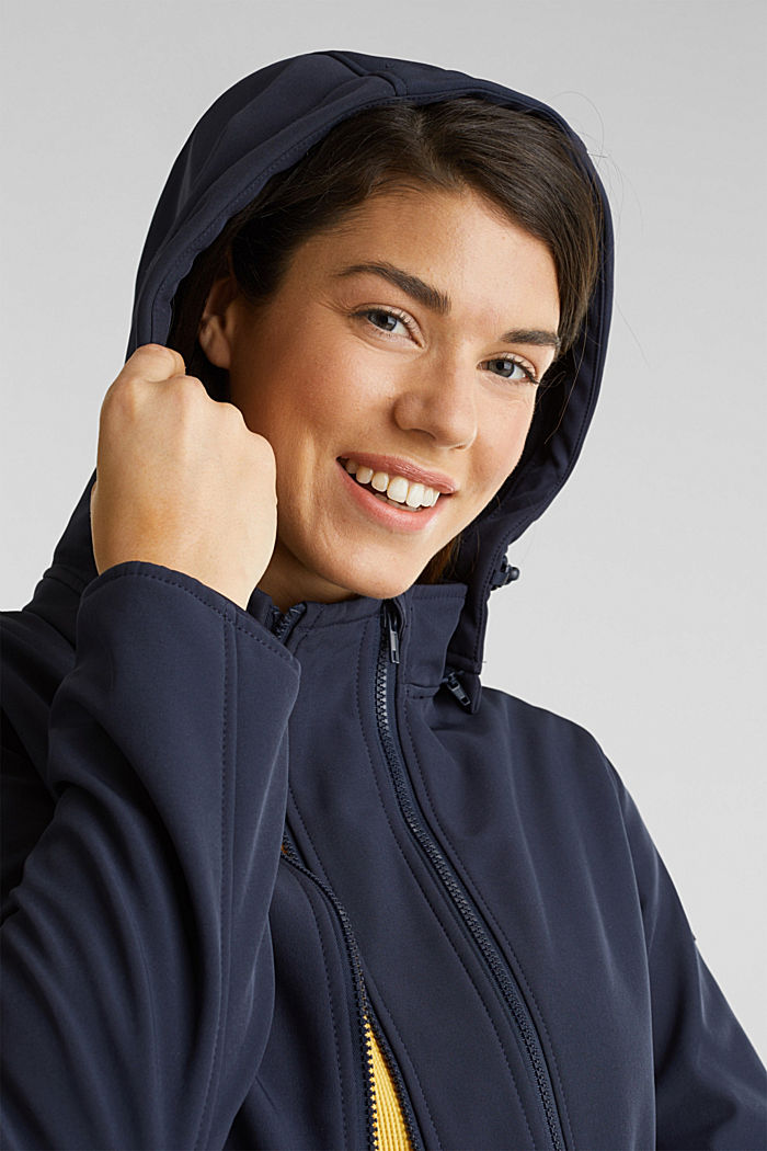 Variable 3-in-1-Softshell-Jacke, NIGHT BLUE, detail image number 6