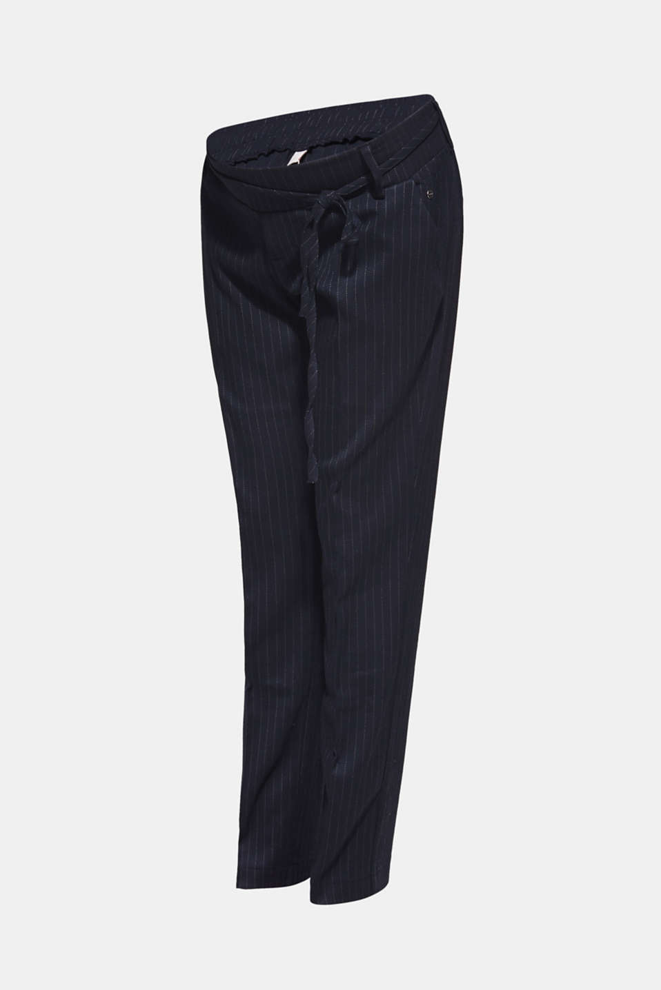 Stretch trousers with an under-bump waistband, LCNIGHT BLUE, detail image number 5