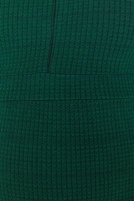 Textured dress with a nursing function, LCBOTTLE GREEN, detail