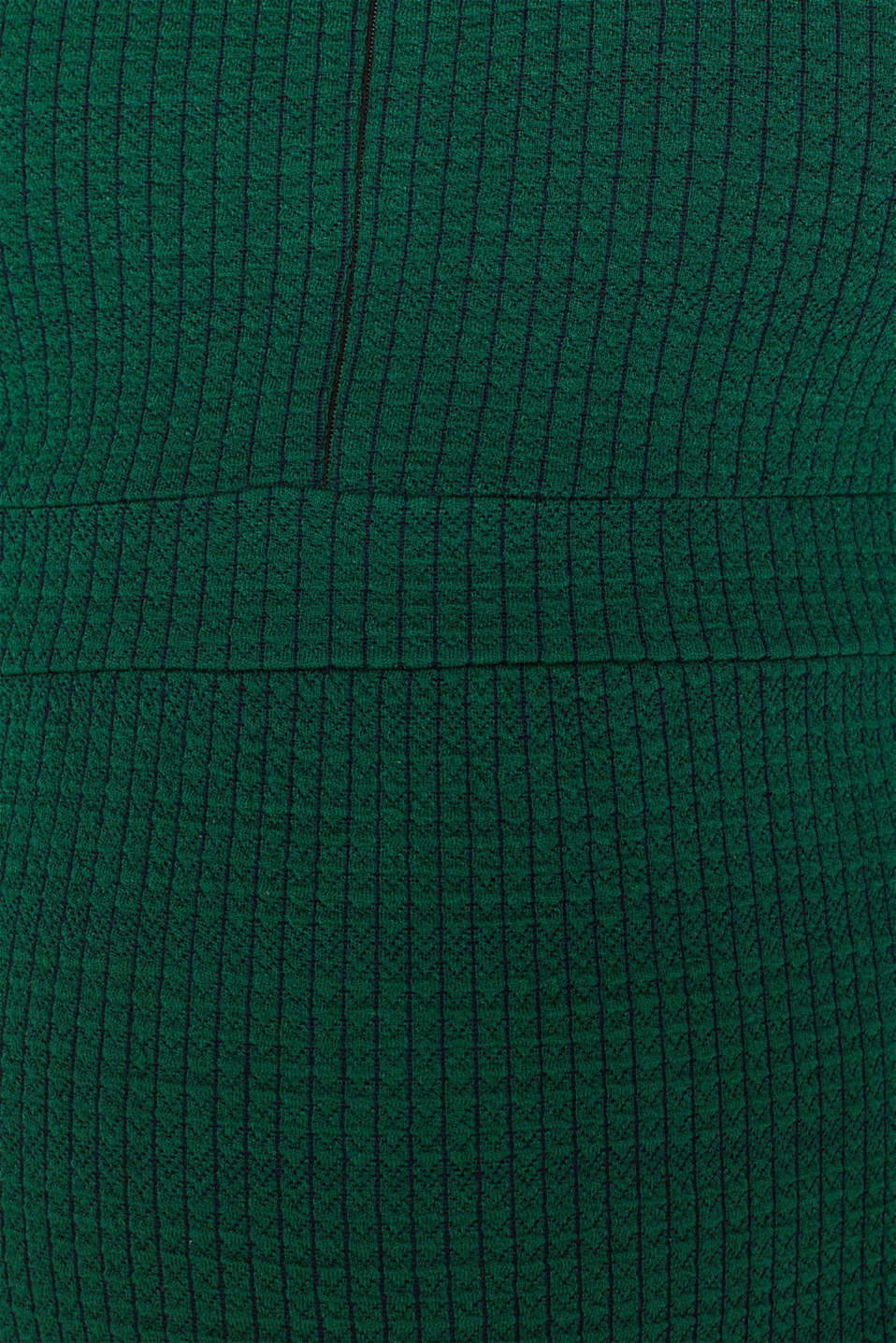 Textured dress with a nursing function, LCBOTTLE GREEN, detail image number 4