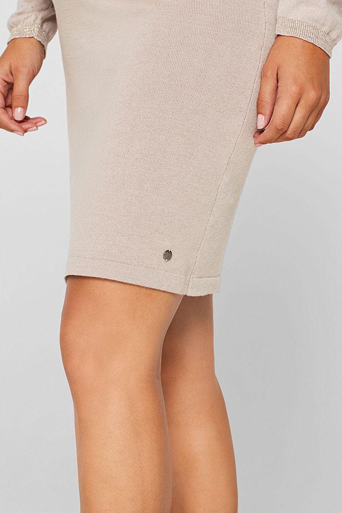 Strick-Kleid mit Stillfunktion, CAMEL, detail image number 5