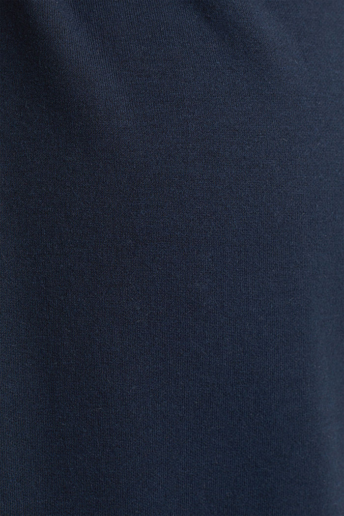 Draped jersey dress with stretch, NIGHT BLUE, detail image number 4