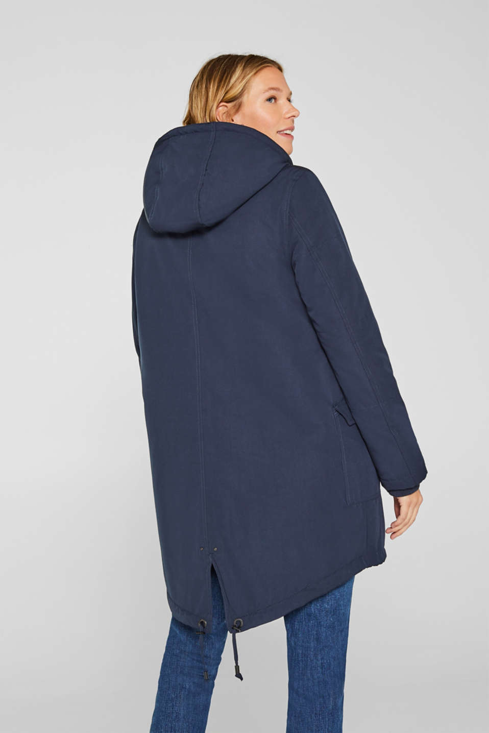 Jackets outdoor woven, LCNIGHT BLUE, detail image number 3