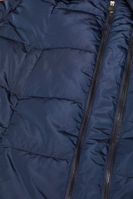Adjustable two-way quilted coat, LCNIGHT BLUE, detail