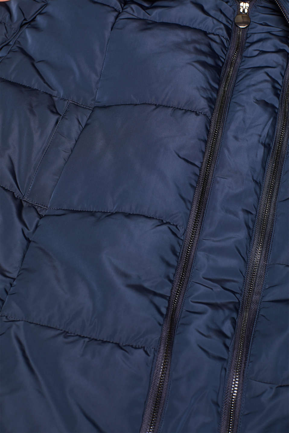 Adjustable two-way quilted coat, LCNIGHT BLUE, detail image number 4