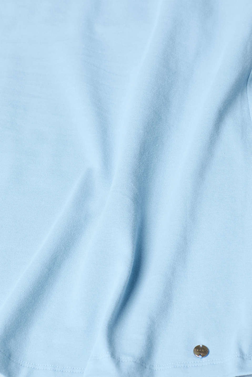 Stretchy nursing top, LCLIGHT BLUE, detail image number 3