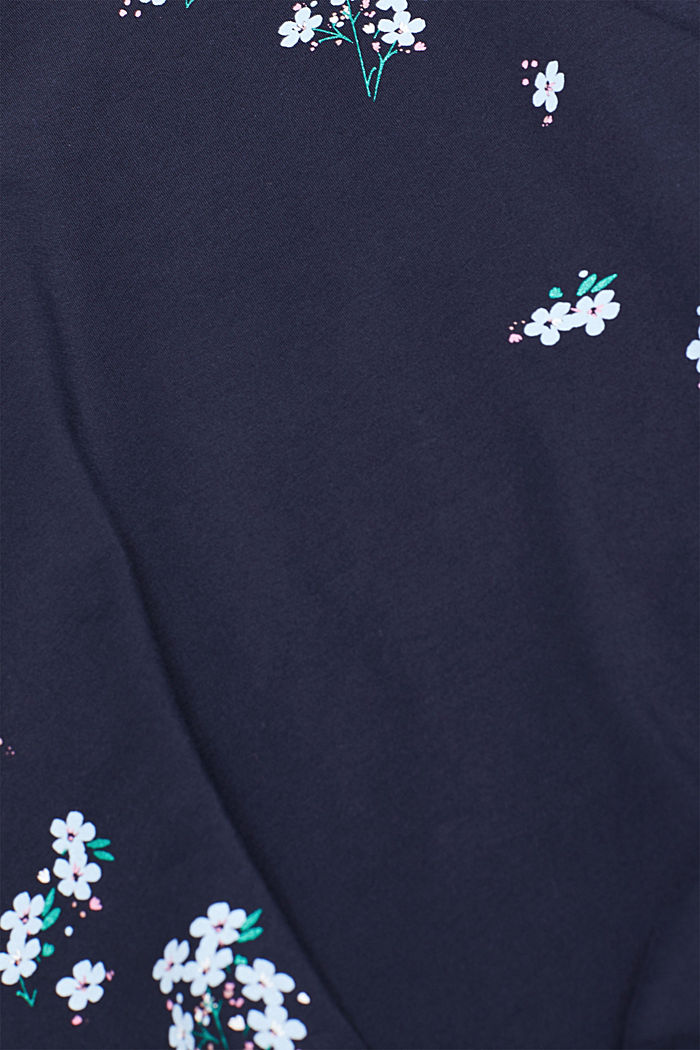 Stretch-Longsleeve mit Print, NIGHT BLUE, detail image number 4