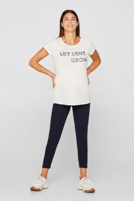 100% cotton T-shirt with a front print, LCOFF WHITE, detail