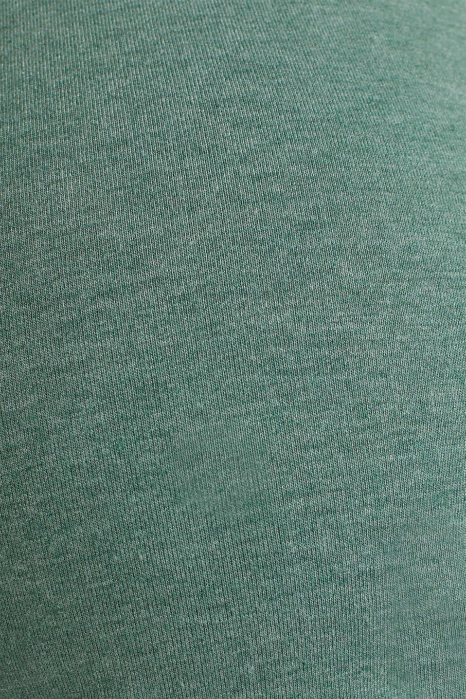 Stretch long sleeve nursing top, LCBOTTLE GREEN, detail image number 4