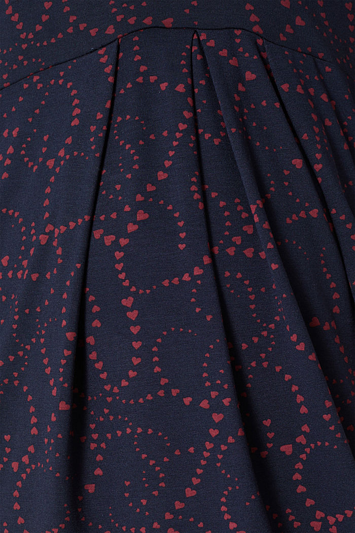Jersey-Stretch-Kleid mit Stillfunktion, NIGHT BLUE, detail image number 4