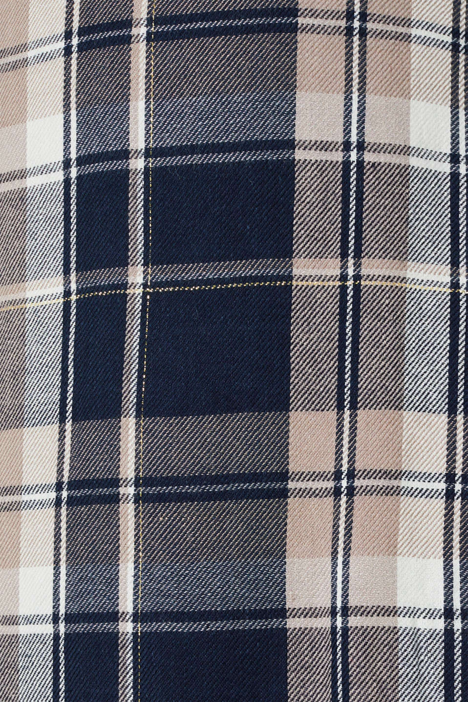 Glittering flannel dress with a nursing function, LCNIGHT BLUE, detail image number 4