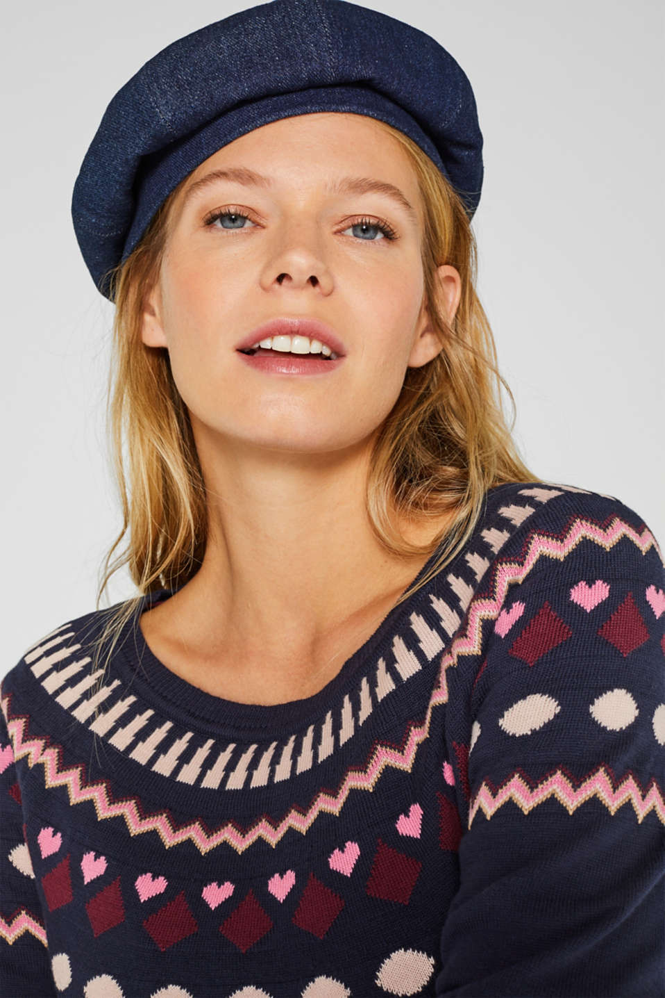 Sweaters, LCNIGHT BLUE, detail image number 5