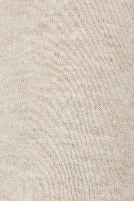 Melange jumper with button plackets, LCCAMEL, detail