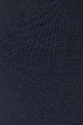 Layered long sleeve nursing top, LCNIGHT BLUE, detail