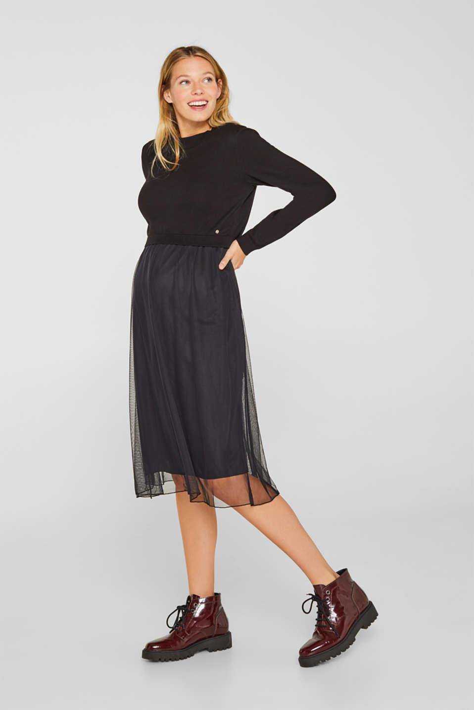 Dresses knitted, LCBLACK, detail image number 1