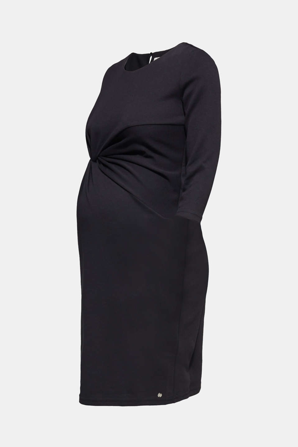 Draped stretch jersey dress, LCBLACK, detail image number 5
