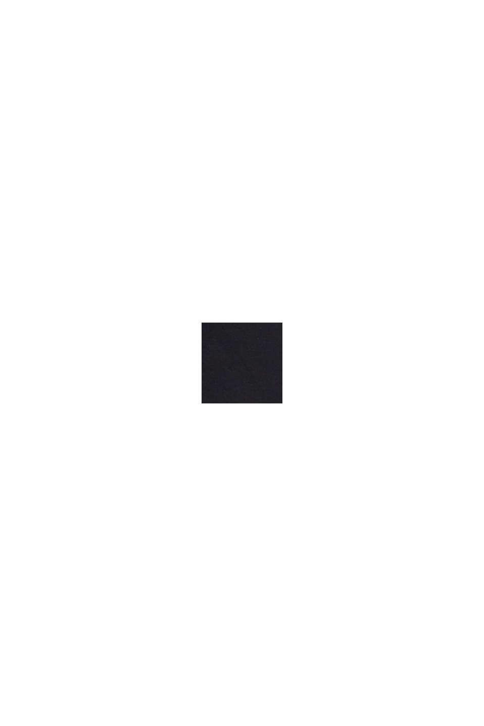 Vestido de jersey elástico drapeado, BLACK, swatch
